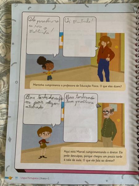 Бразильская школа: домашка на неделю у третьеклассника