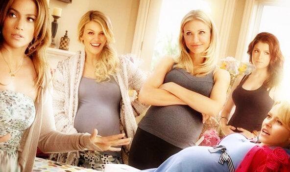 Почему беременным все вокруг кажутся в том же положении