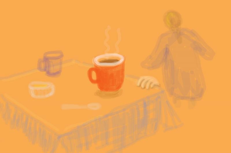 Увлекательный мамин квест - попробуй успеть попить чай