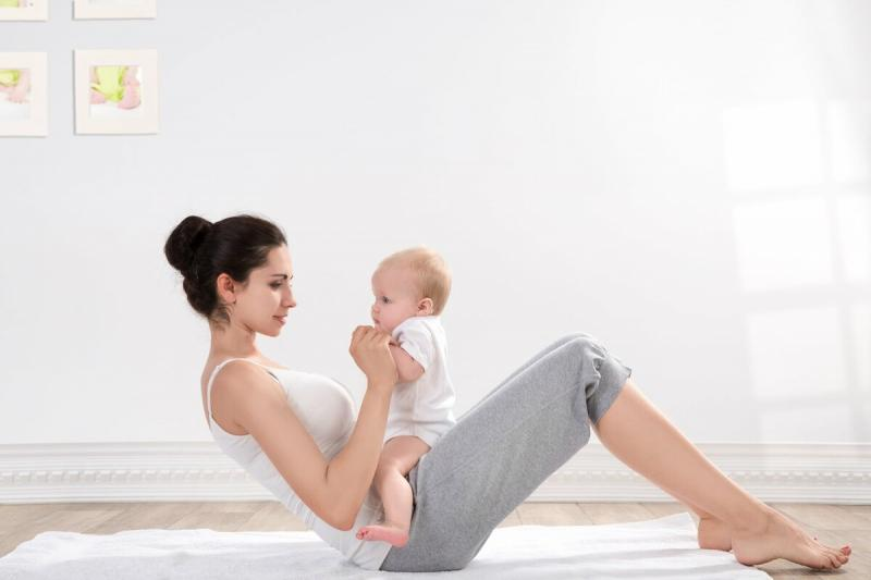 Как быть в хорошей форме после родов?