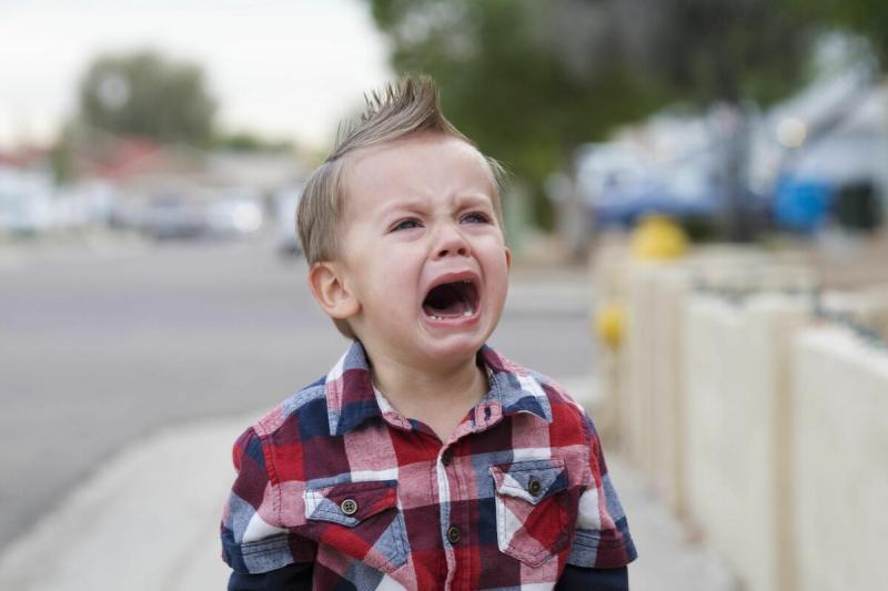 Как не довести ребенка до истерики.