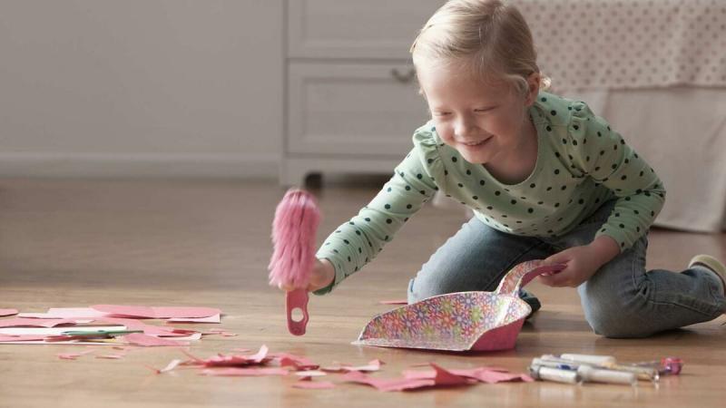 Как приучить ребенка к чистоте и порядку?