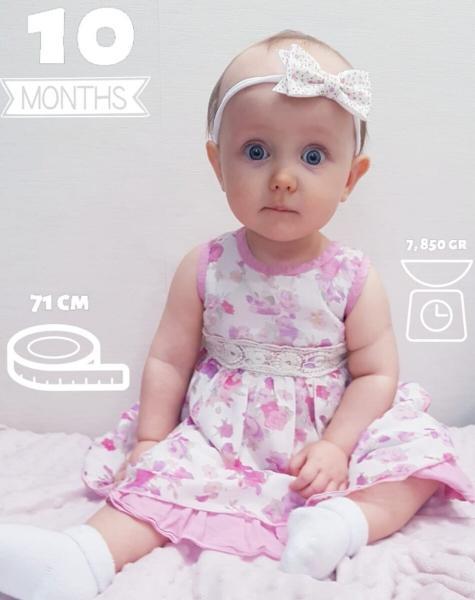 Нашей дочке 10 месяцев! Достижения за ушедший месяц.