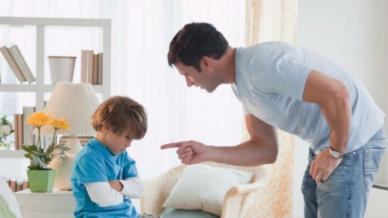 Самое лучшее наказание для ребенка.