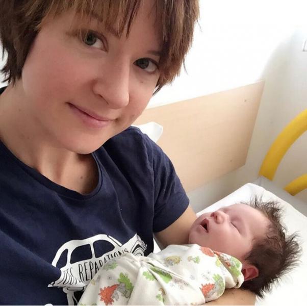 В день, когда я стала мамой, сыну было 2 недели