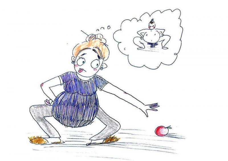 Cамые смешные комиксы о беременности