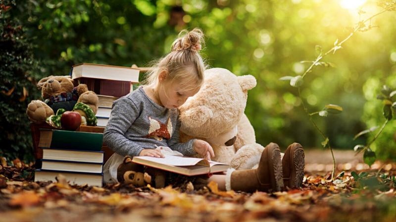 Как привить любовь к чтению с детства