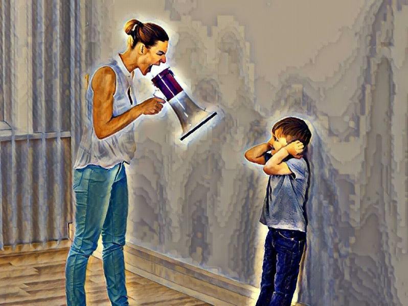 Как не кричать на ребенка? 8 способов