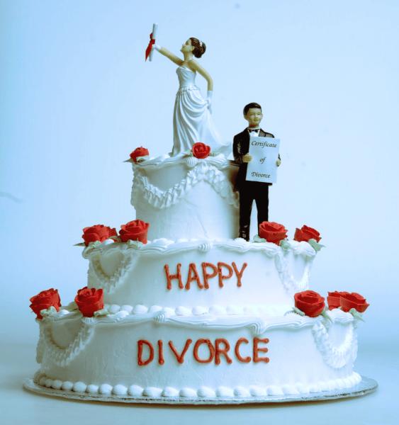 Благодаря разводу