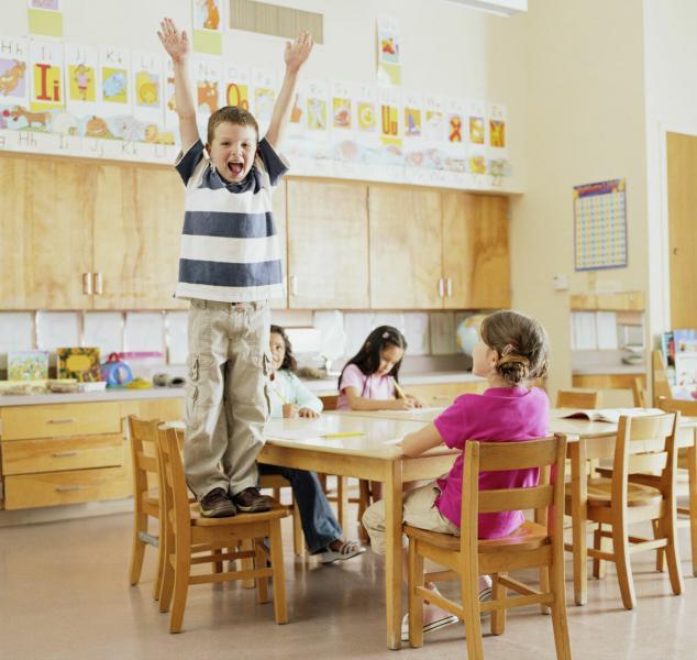 Особенности занятий с гиперактивными детьми