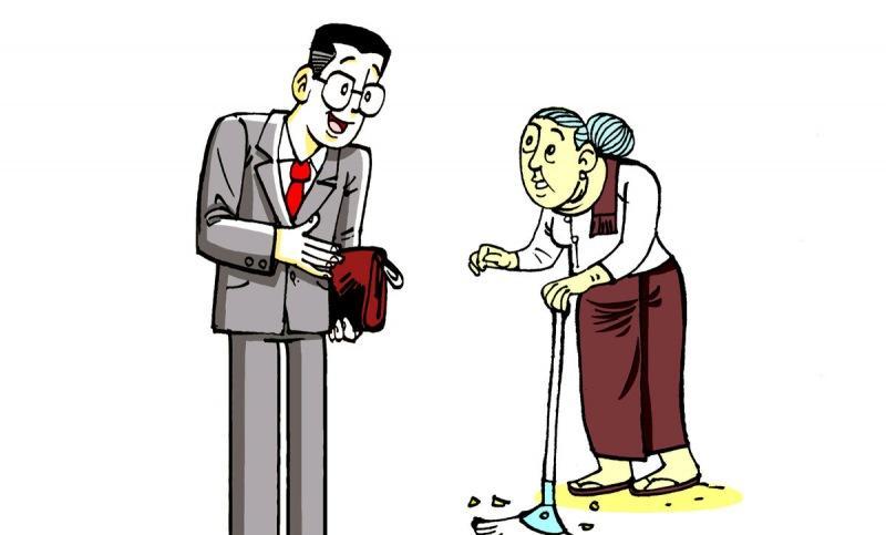 Как муж жену проучил