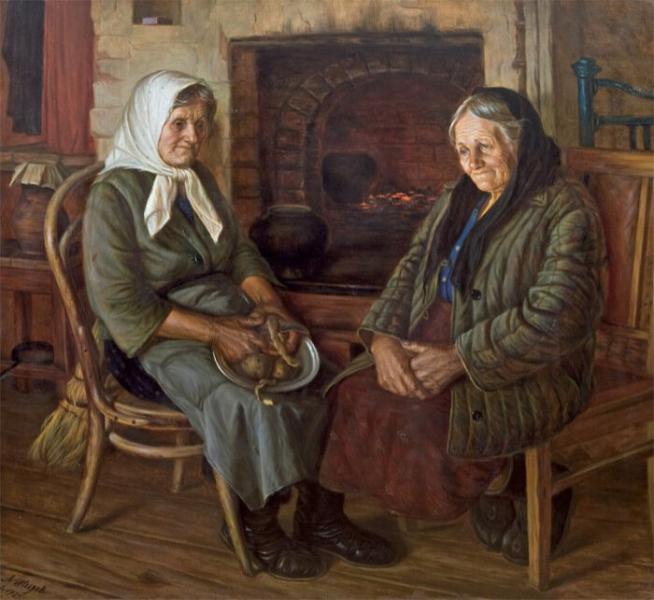 Старая мать и пожилая дочь: дороги нет