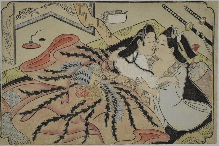 Никаких поцелуев: история секса в древней Японии