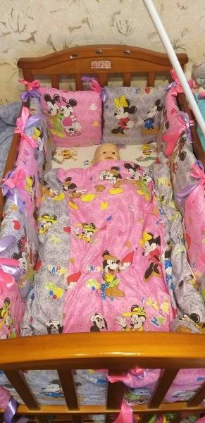 Мастер-класс: шьём бортики в детскую кроватку