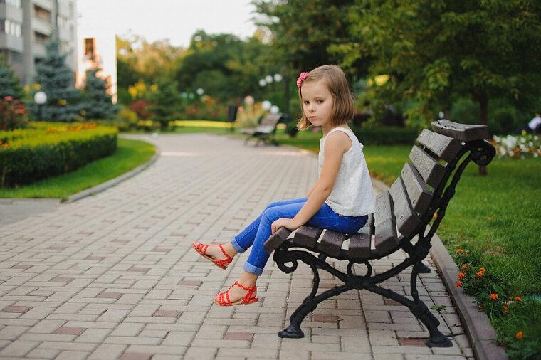 10 видов детей на детской площадке