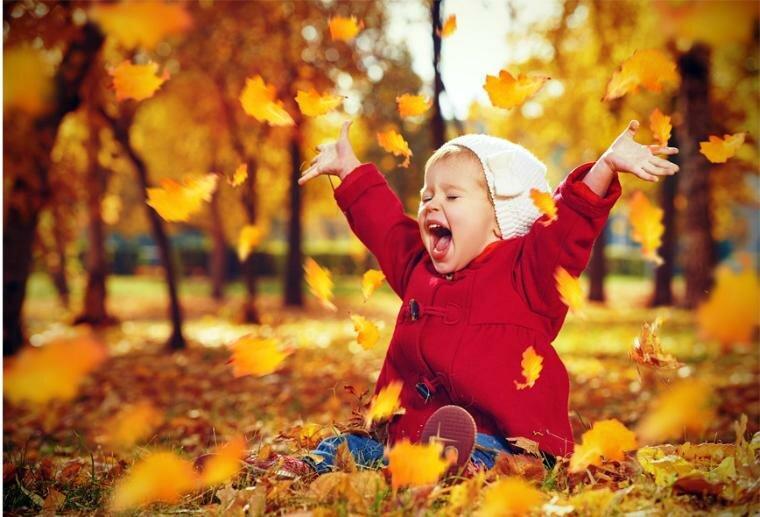 10 веселых осенних развлечений для детей