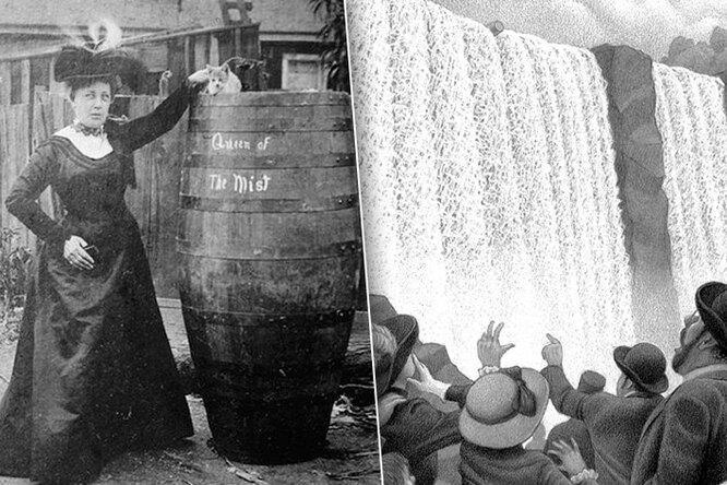 История учительницы, которая бросилась сНиагарского водопада ради славы