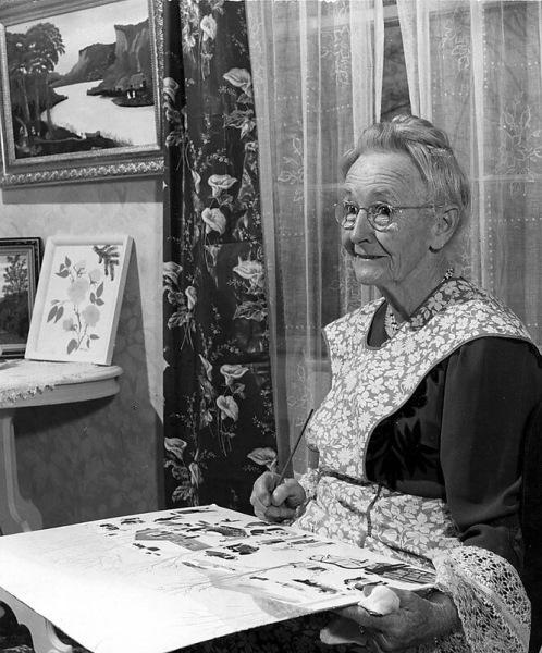 Как Анна Мэри Мозес начала рисовать в76 лет истала известной художницей