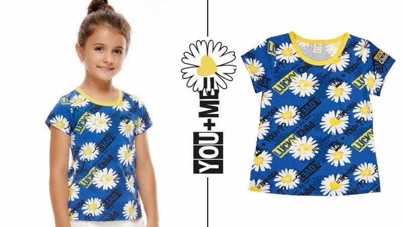 Лукбук коллекции Lucky Child для девочек