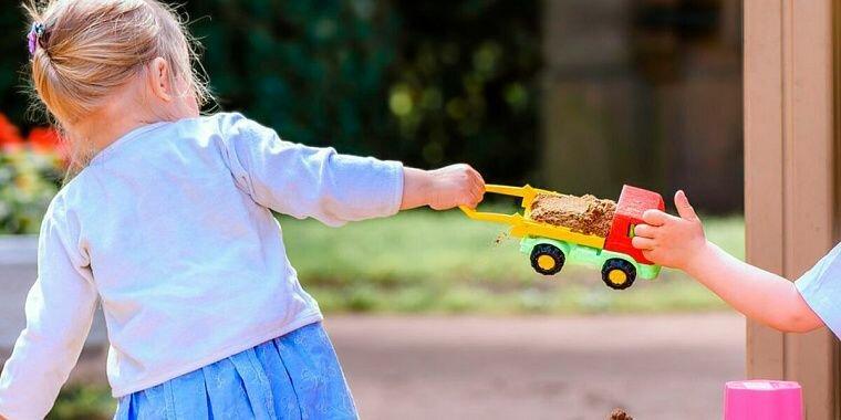 Надо ли учить ребёнка делиться?