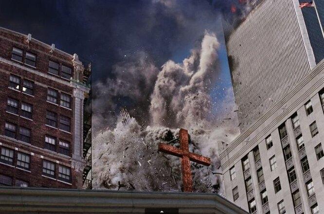 Редкие фото сместа трагедии 11 сентября вНью-Йорке