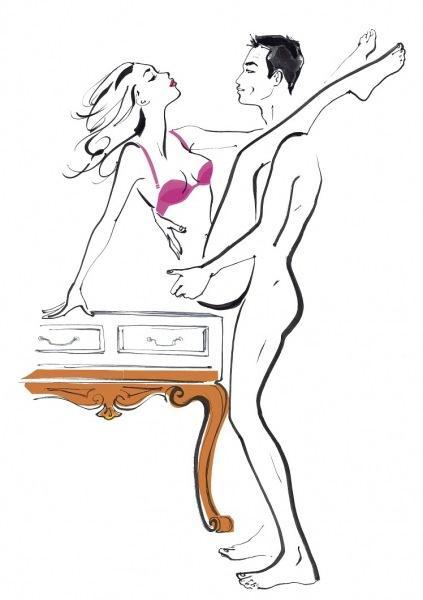 ТОП-3 сексуальных позы для множественных оргазмов