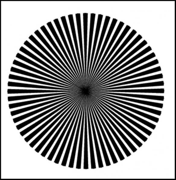 Это изображение не черно-белое. Цвет, который вы видите, скажет, гений вы или просто талант